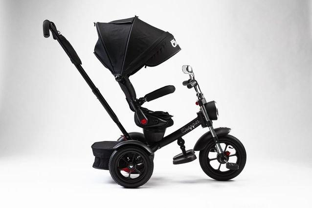 Велосипед CHOPPER TRIKE черный (фара со светом и звуком, вращение на 180 градусов, колеса резина)